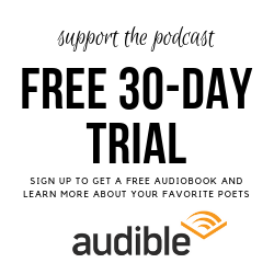 Support our podcast by getting a free 30-day Audible trial